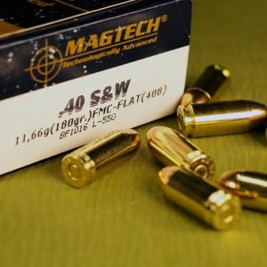 40 Smith and Wesson training ammunition currently retails for around $0.27 a round.