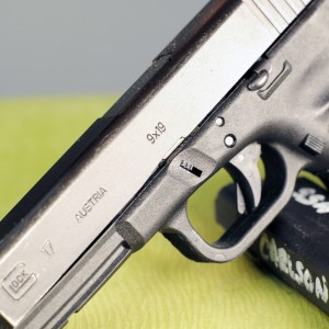 This GLOCK is is my every day carry gun and it is chambered in 9mm, not 40 Smith and Wesson.