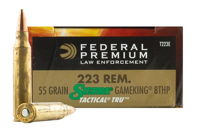 Federal Premium LE Tactical 223 Rem Sierra GameKing