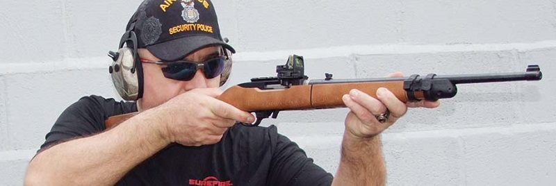 Ruger 10-22 Shooting