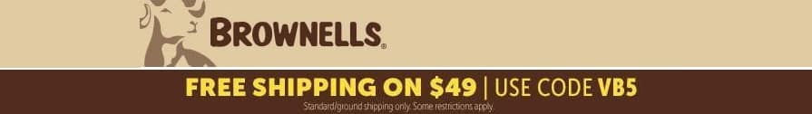 Brownells Free Shipping