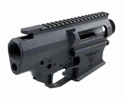 Cross Machine Tool - 308 AR Stripped Billet Upper & Lower Receiver Set